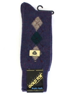 1980's Mens Accessories -Socks