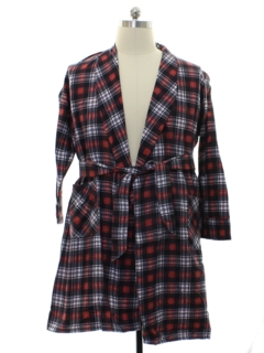 1960's Mens Flannel Robe