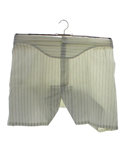 1960's Mens Accessories - Print Boxer Shorts