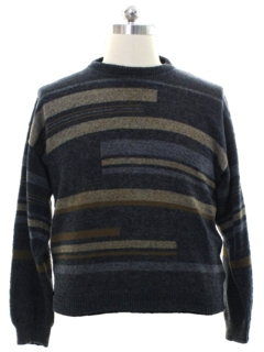 1990's Mens Bill Blass Cosby Style Sweater