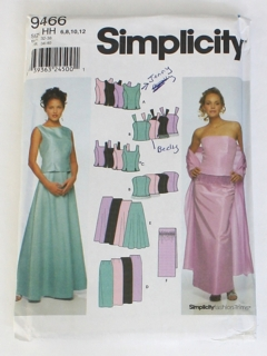 1990's Womens Sewing Pattern