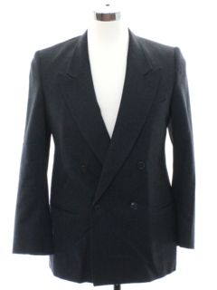 1980's Mens Armani Totally 80s Swing Style Blazer Sportcoat Jacket