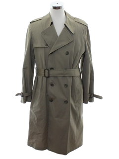 1970's Mens Trenchcoat Jacket