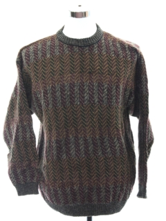 1990's Mens Cosby Sweater