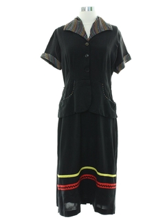 1940's Womens Fab Forties Dress