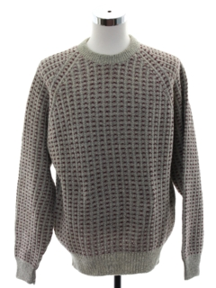 1980's Mens Heavy Knit Amana Wool Sweater