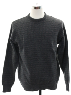 1980's Mens Lambswool Blend Sweater