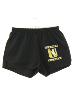 1980's Mens Wyoming Athletic Gym Shorts