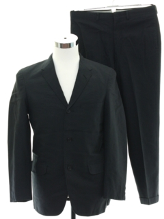 1960's Mens Mod Pinstriped Suit