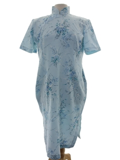 1970's Womens Cheongsam Dress