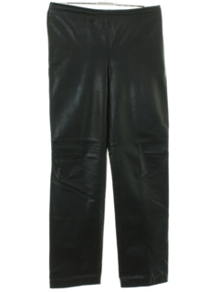 1980's Womens Leather Pants
