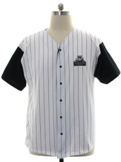 1990's Mens Miller Genuine Draft Beer Shirt Baseball Jersey