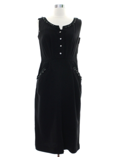 1940's Womens Fab Forties Rayon Dress