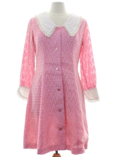 1960's Womens Mod Frock Dress