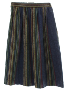 1980's Womens Guatemalan Hippie Skirt