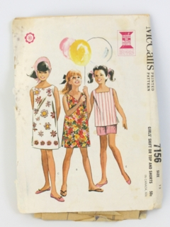 1960's Womens/Childs Sewing Pattern