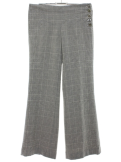 1990's Womens Elevenses Flared Mod Pants