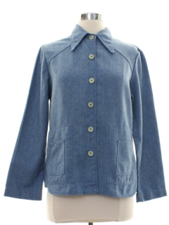 1970's Womens Shirt Jacket