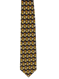 1990's Mens Wide Tasmanian Devil Necktie