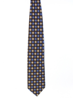 1990's Mens Wide Silk Necktie