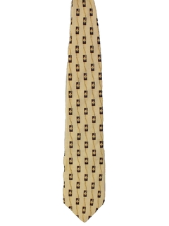 1990's Mens Bill Blass Designer Wide Silk Necktie