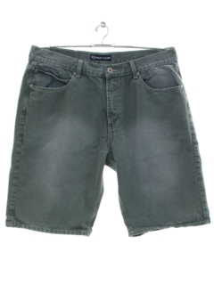 1990's Mens Phat Farm Denim Hip-Hop Shorts
