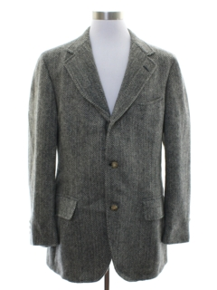 1970's Mens Wool Blazer Sportcoat Jacket