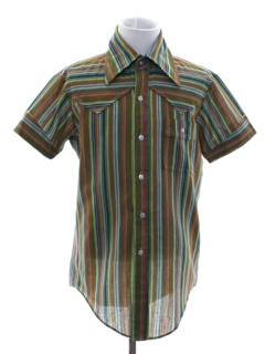 1960's Mens/Boys Mod Sport Shirt