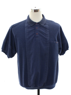 1980's Mens Totally 80s Resort Wear Style Golf Shirt