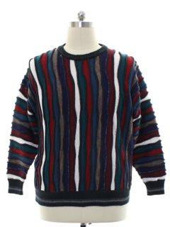 1980's Mens Coogi Inspired Cosby Style Sweater