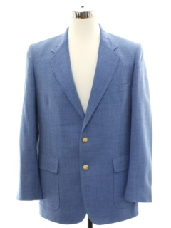 1980's Mens Totally 80s Blazer Style Sport Coat Jacket