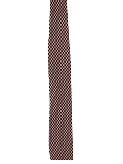 1950's Mens Skinny Flat Bottom Necktie