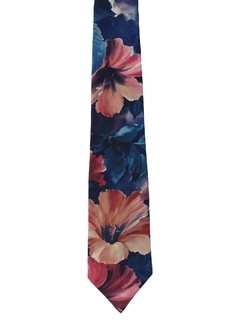 1980's Mens Totally 80s Wide Necktie