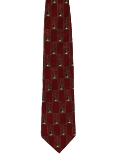 1990's Mens Bill Blass Designer Wide Necktie