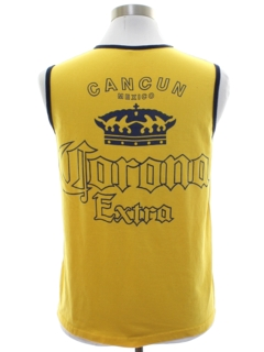 1980's Mens Corona Beer Muscle Shirt
