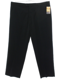 1990's Mens Flat Front Mod Slacks Pants