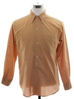 1960's Mens Preppy Mod Shirt