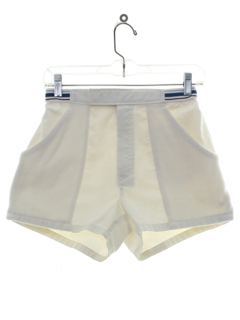 1980's Mens Totally 80s Tennis Shorts