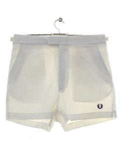 1980's Mens Totally 80s Fred Perry Tennis Shorts