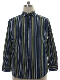 1990's Mens Tommy Bahama Cotton Shirt