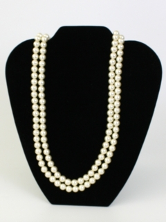 1990's Womens Accessories - Faux Pearl Necklace
