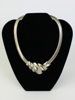 1960's Womens Accessories - Mod Art Deco Necklace