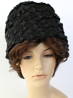 1960's Womens Accessories - Lampshade Hat