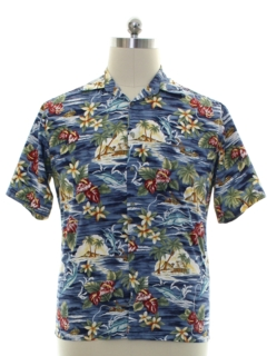 1990's Mens Cotton Hawaiian Shirt
