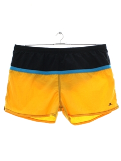 1980's Mens Totally 80s Hobie Swim Shorts