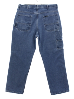 1990's Mens Key Cargo Denim Jeans Pants