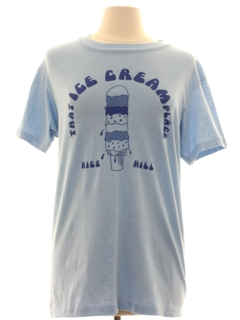 1980's Womens Totally 80s Single Stitch Ice Cream T-shirt