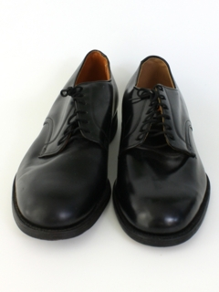 1960's Mens Accessories - Leather Oxfords Shoes