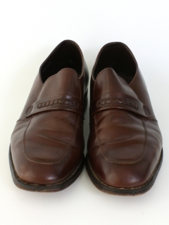 1970's Mens Accessories - Leather Loafers Shoes