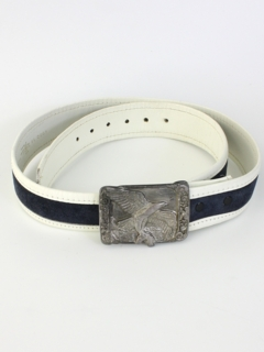 1970's Mens Accessories - Suede Leather Belt